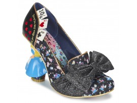 Kvinder Irregular Choice Wonderland This Way Sort - Gratis fragt hos Sko pumps Dame 137900 Wonderland This Way Sort FefXcgfz